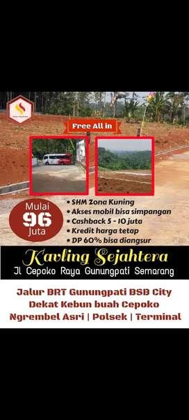 Kavling murah di mundingan Gunungpati