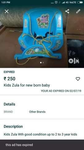 Kids Zula good condition