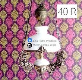 LAMPU ANTIK 40 R MODEL GANTUNG HIAS JOGLO
