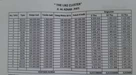 jual rumah sangat murah dekat sekolah Al Azhar kota PAti Jawa Tengah