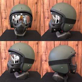 Helm Gogle Mask