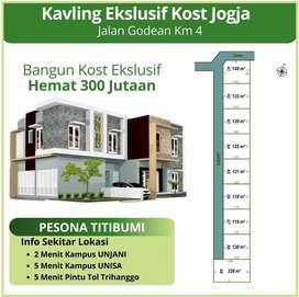 Tanah Premium di Jln Godean Km 4 Dekat Pintu Tol Trihanggo Disc 25%