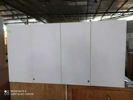 lemari kitcenset gantung 4 pintu ukuran P165 x L38x T85 siap pake