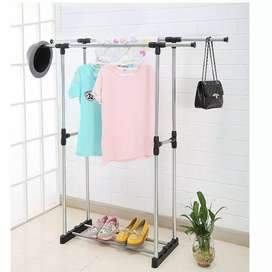 Double stand hanger