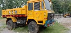 Ashok Leyland single Jain tipper good condition all Tyres rebuild
