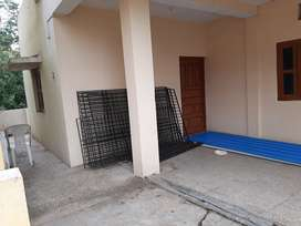 A 1bhk flat in a pleasant and calm loacality.
