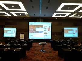 Jasa Rental LCD Proyektor dan Screen murah 24 Jam Area Klaten Utara