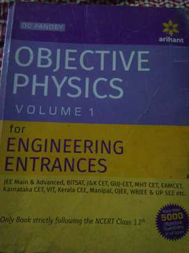 Objective Physics(for JEE) DC Pandey class 11 ORG MRP 610