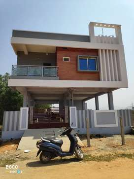 Individual house sellar + first floor house 133sq yds