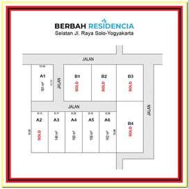 Dekat Stasiun Maguwo, Tanah Jogja Area Sleman: Legalitas SHM