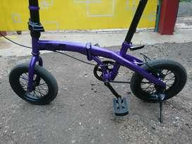 Sepeda lipat frame 12