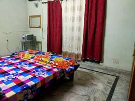 Full furnish house  lower portion 2 bed  80 th