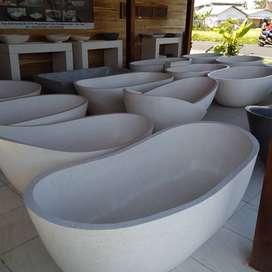 Bathub Terrazzo Marmer Ayu Nuansa Lombok