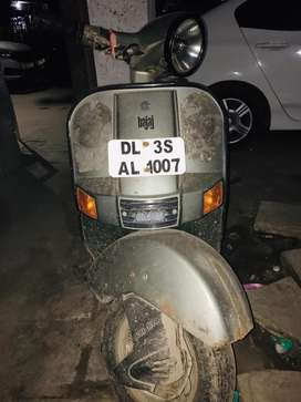 Selling my chetak scooter