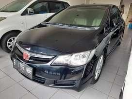 Honda civic 1.8 at matic 2007, dp 32 jt ang 2.9 jt