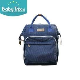 DIALOGUE Moms Bag Denim Series tas ransel tas bayi diapers Bag