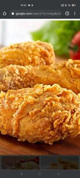 Wanted crispy chicken master chef