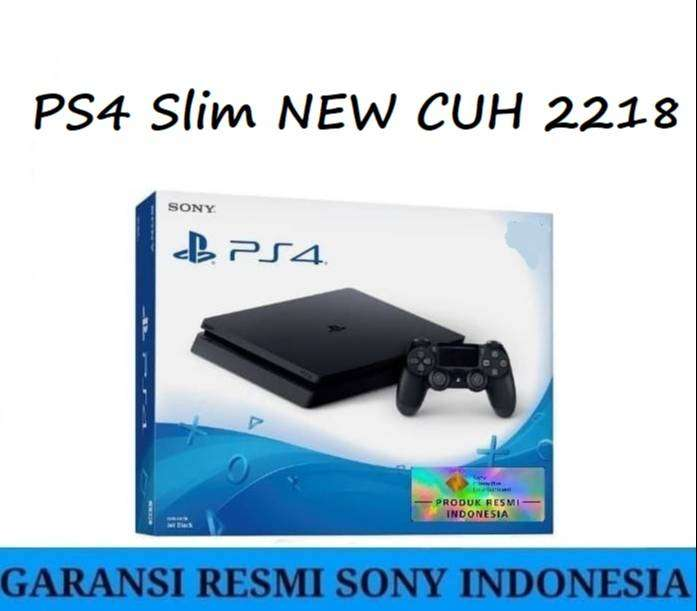 [NEW] PS4 Slim 500GB Full Set garansi resmi Sony Indo 0