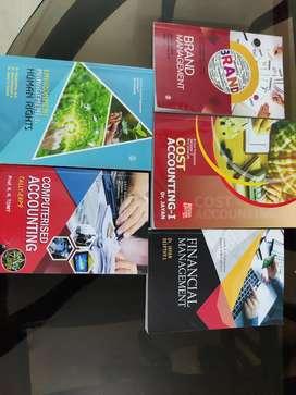 Bcom Fifth Semester Textbooks for MG University