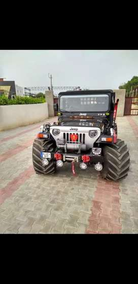 Modified Hunter Jeep on Order only