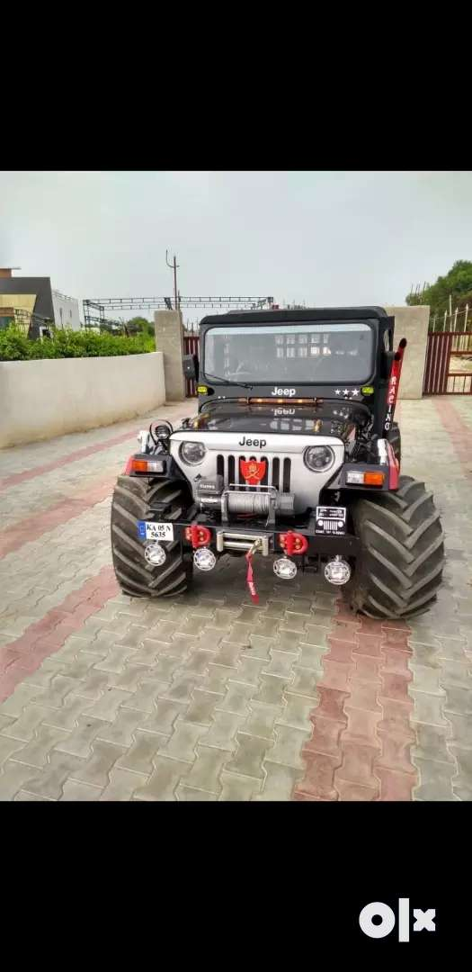 Modified Hunter Jeep on Order only 0