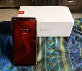 OnePlus 6, ( red 8+128 version) at 20000/-