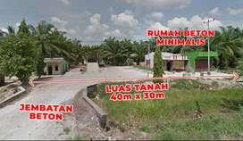 Dijual Tanah bekas RAM dan Rumah ukuran 40x30m