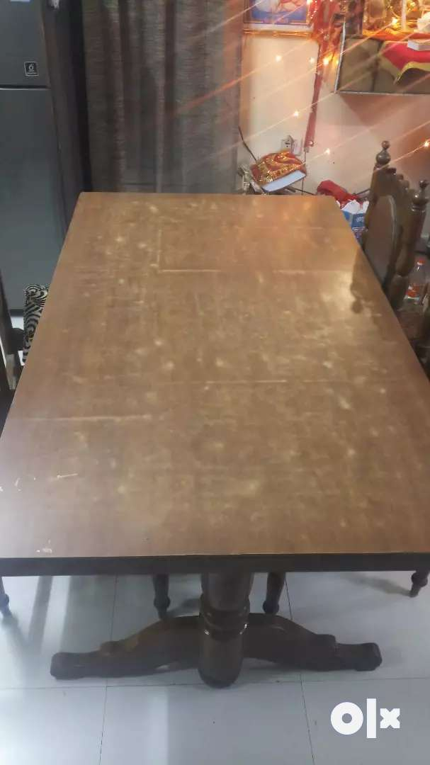 Wooden Dining Table, 6 seater 0