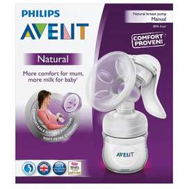 Breastpump Avent Manual Natural
