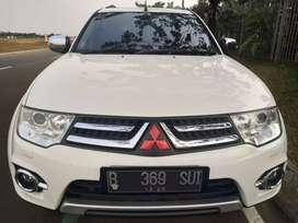Mitsubishi pajero dakar at 2015 diesel putih km 50 rban