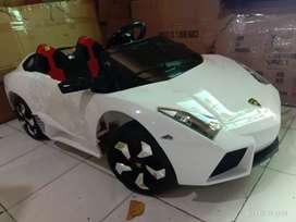 Ready mobil aki cas anak model lambo merek PMB