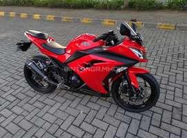 Kawasaki ninja 250 FI 2014 Merah istimewa