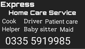Professional and reliable domestic staff available 24 /7 - call now