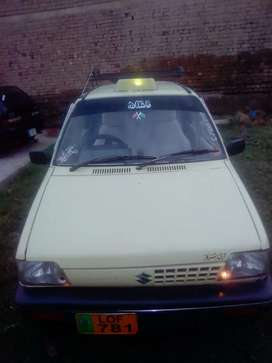Mehran 1991 model lahore number good condition