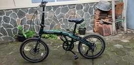 "Sepeda Lipat Evergreen 20"""