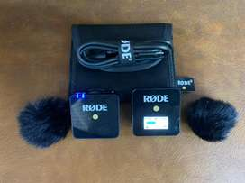 17000 only Rode Wireless Go / camera mike/ video mike / rode go mike