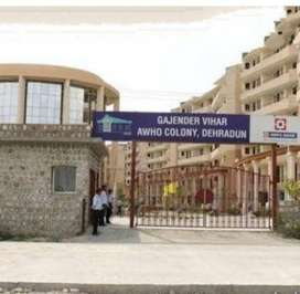 3bhk plus servant room with attached bath on rent 125at Awho society
