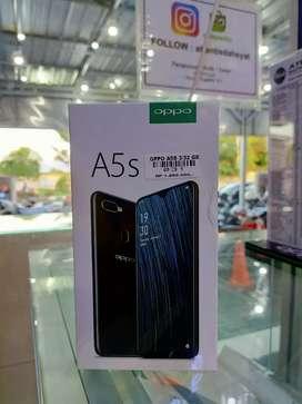 Oppo A5s 3/32gb garansi resmi 1 tahun.