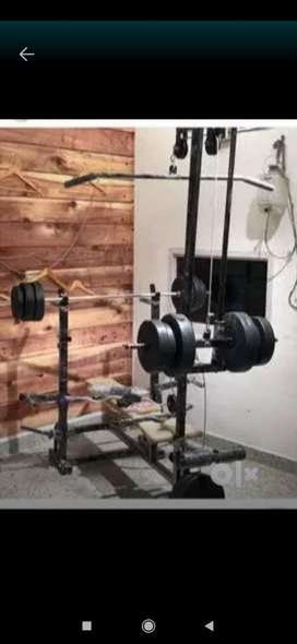 20 in1 home gym bench