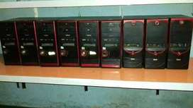 20 unit komputer core2 bekas+bonus headset,mouse dan keyboard