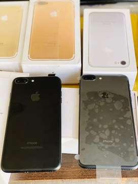 iphone 7 plus untouched matt black colour