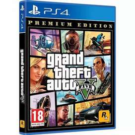 Grand Theft Auto & MAP- PS4 GAMES