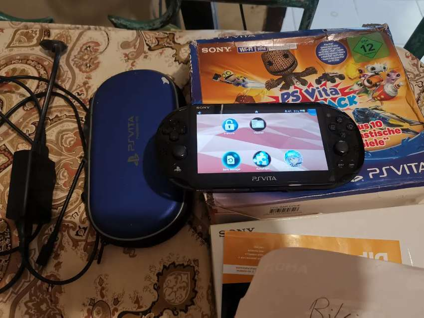 Ps vita slim black 0
