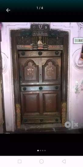 Burma Teakwood Door