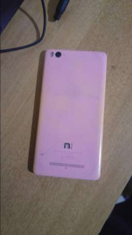 Mi 4i, brought in 2016,  pink in colour
