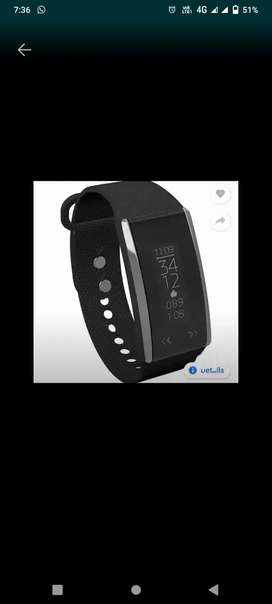 Fast track smart watch