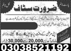 Online Job For Ad Posting ( male And Female)