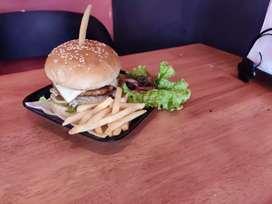 Burger and sandwich maker