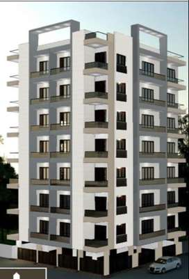 3bhk Best huge ventilated flat on sale on prime location of Morbi