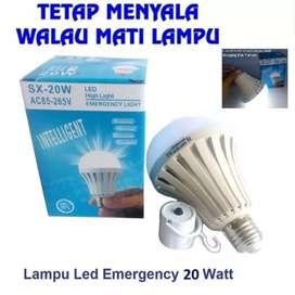 Bohlam Lampu Emergency LED SX-20W Sentuh ON OFF